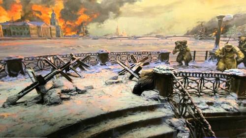 pintura de guerra fondo
