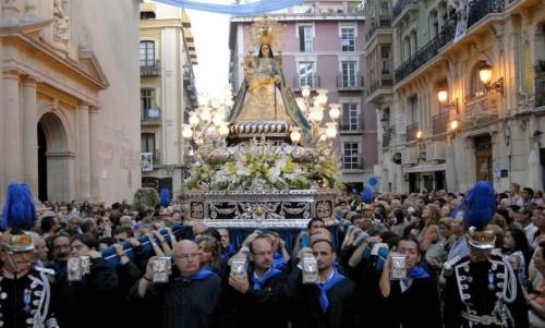 procesion Virgen del Remedio Alicante