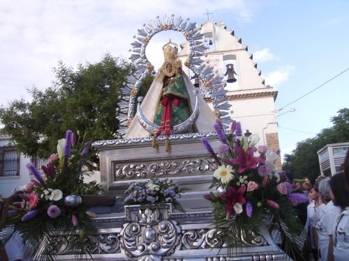 procesion virgen de la cabeza