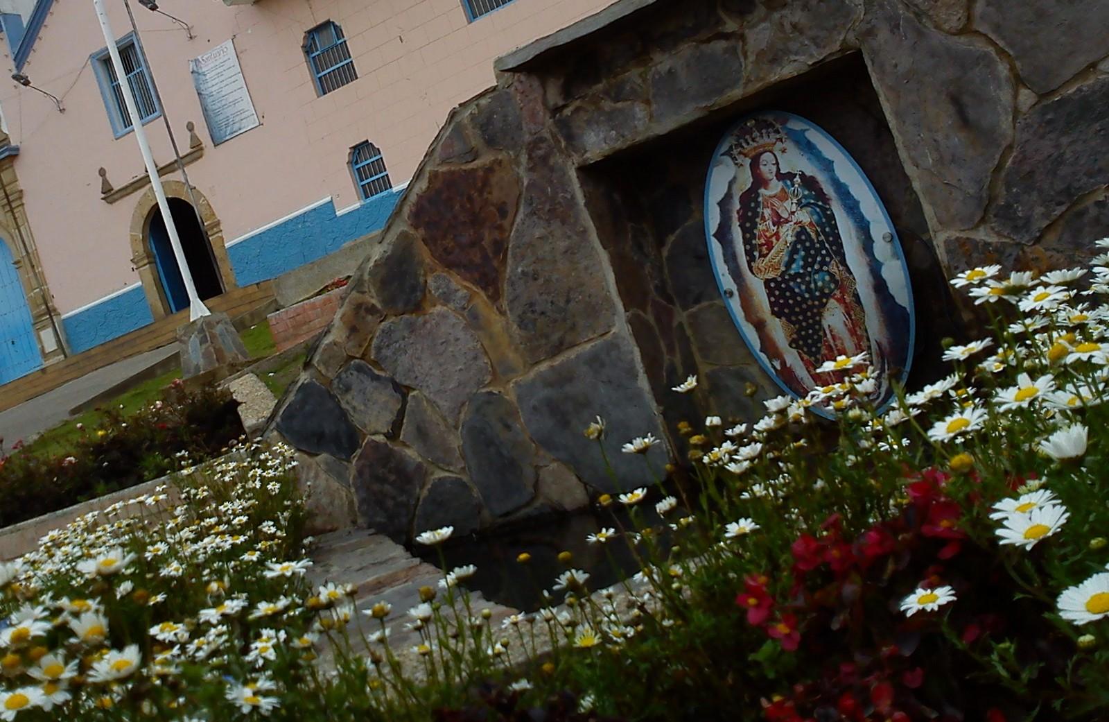 Virgen del Milagro de Tunja, Apareció con Destellos al Obispo, Colombia (7 jun, 24 ago)