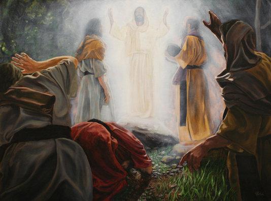 Resultado de imagen de transfiguracion de jesus