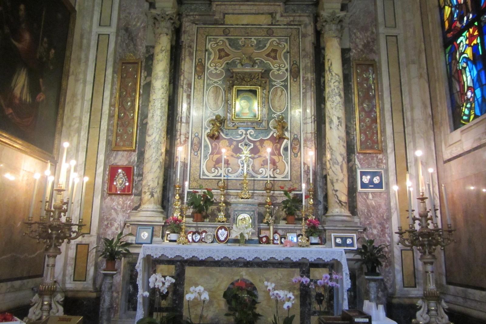 Virgen del Pozo (Madonna del Pozzo) Patrona de los Deprimidos, Italia (15 ago, 26 sep)