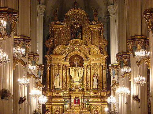 altar ns de la merce barcelona