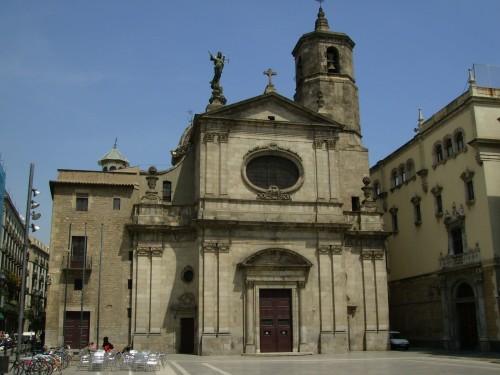basilica de la merced barcelona fondo