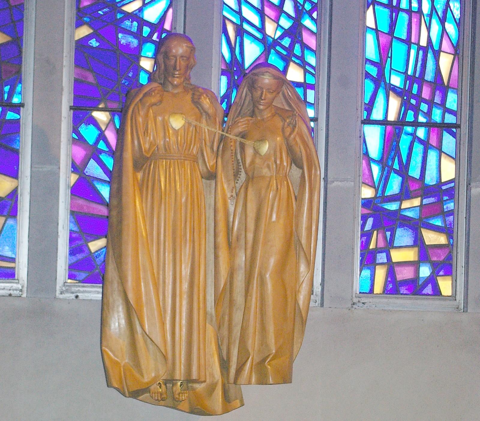 Corazones Unidos de Jesús y María: Nuestra Señora del Santo Rosario de Kerizinen, Francia (15 sep)