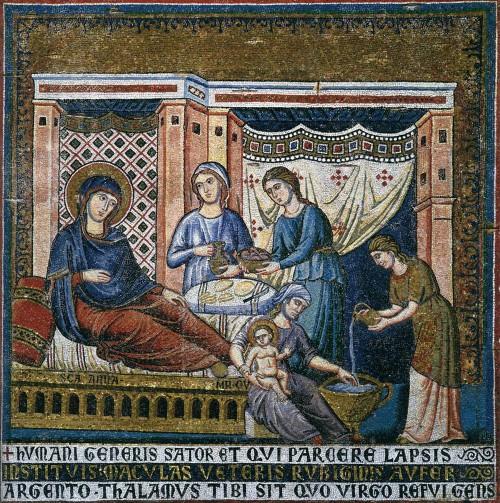 icono natividad de maria