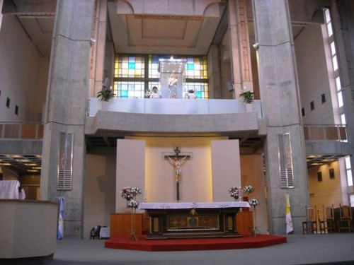 interior santuario de san nicolas