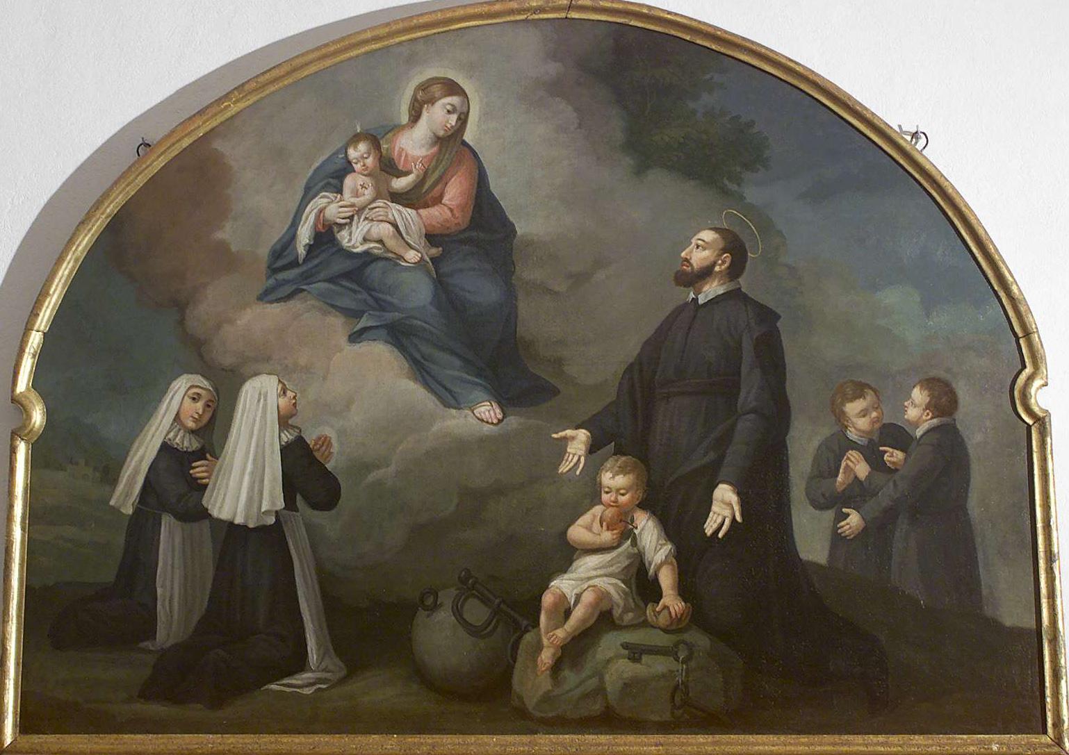 La Madre de los Huérfanos se Apareció para Liberar a San Jerónimo Emiliani (27 sep, 8 feb)