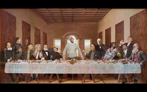 la ultima cena con einstein