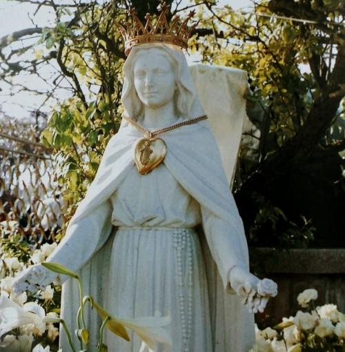 madonna de las rosas san damiano