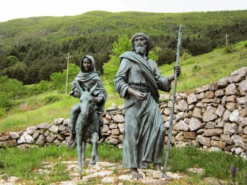 maria jose en estatua castelpetroso