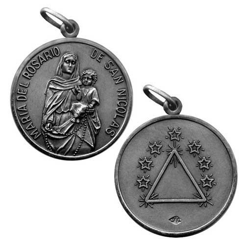 medalla san nicolas