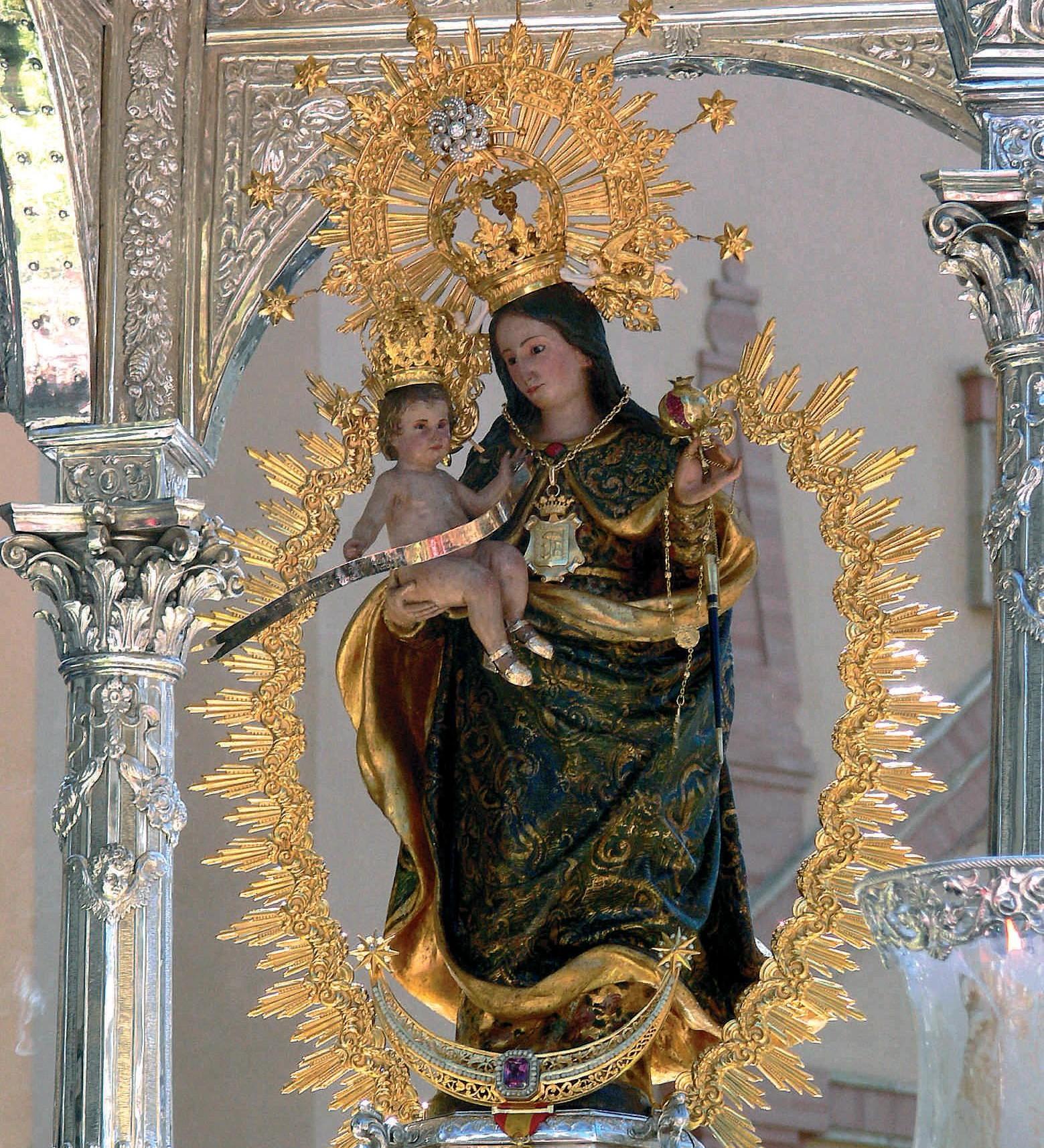 Nuestra Senora De La Cinta De Huelva Cristobal Colon Peregrinaba Al