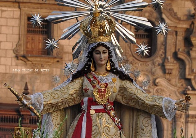 Image result for fiestas de santa rosa Virgen de la Merced