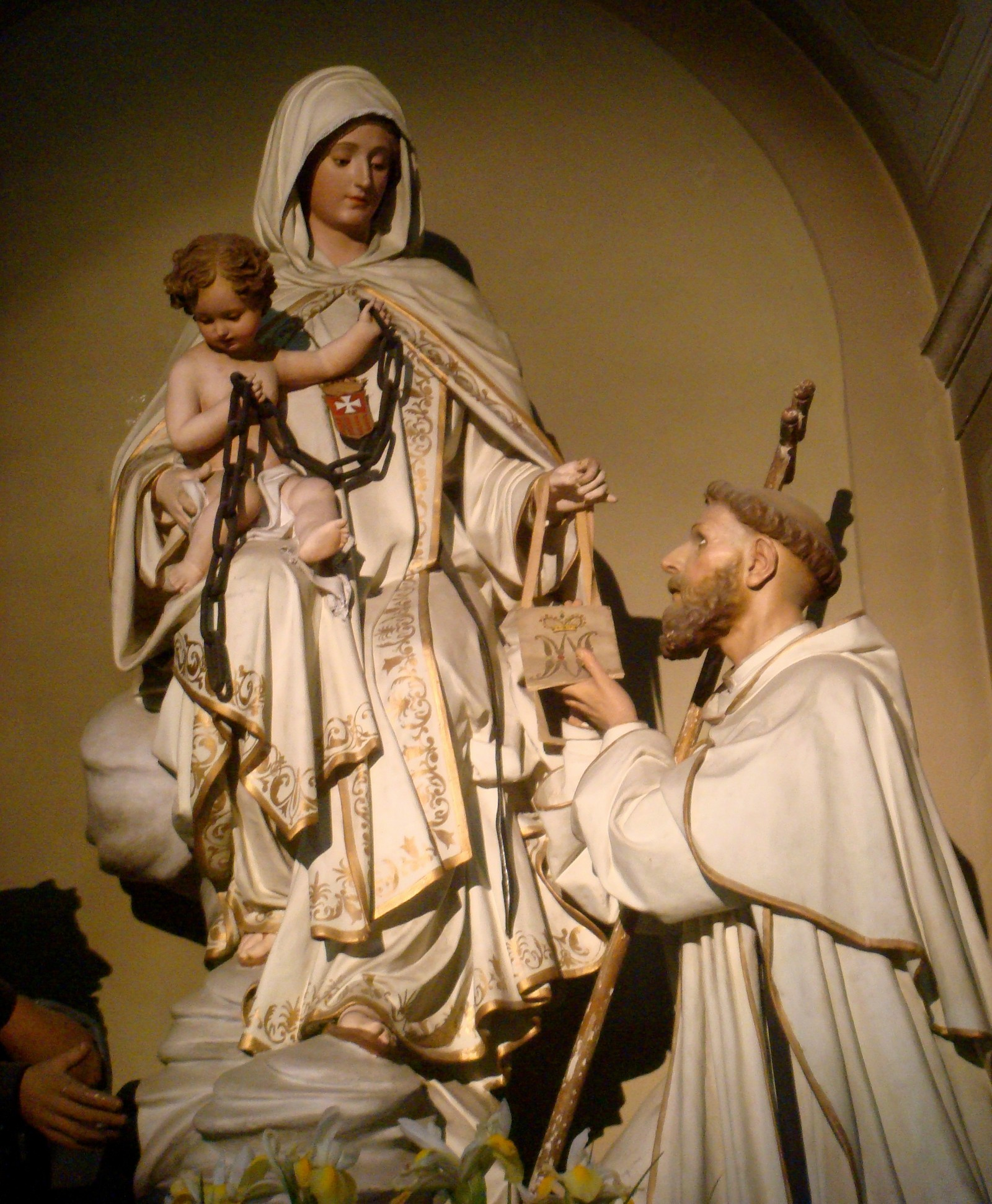 Nuestra Señora de la Merced Apareció para Pedir por los Cautivos, España (24 de septiembre)