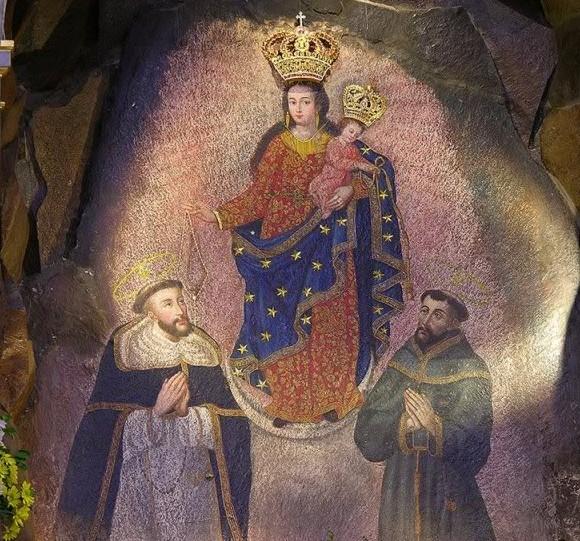 Resultado de imagen para Nuestra Señora con Algunos Santos, pinturas