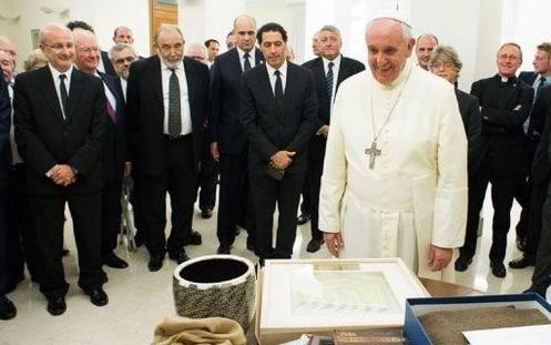 papa francisco y congreso judio mundial