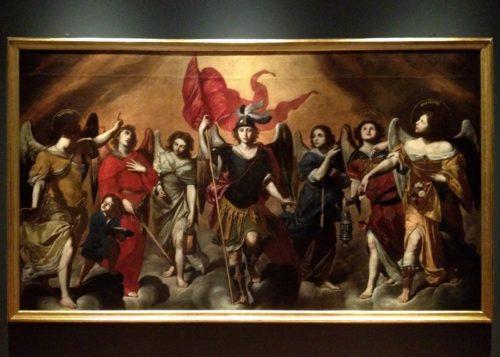 pintura de 7 arcangeles