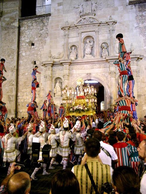 procesion de la virgen de la salud de algemesi
