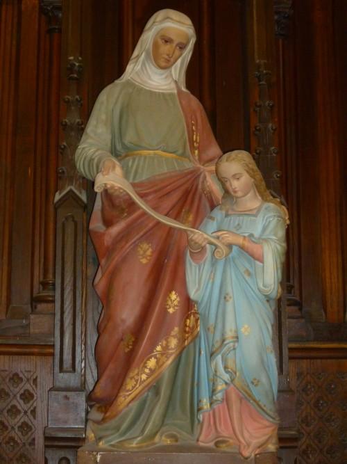 santa ana y la niña maria