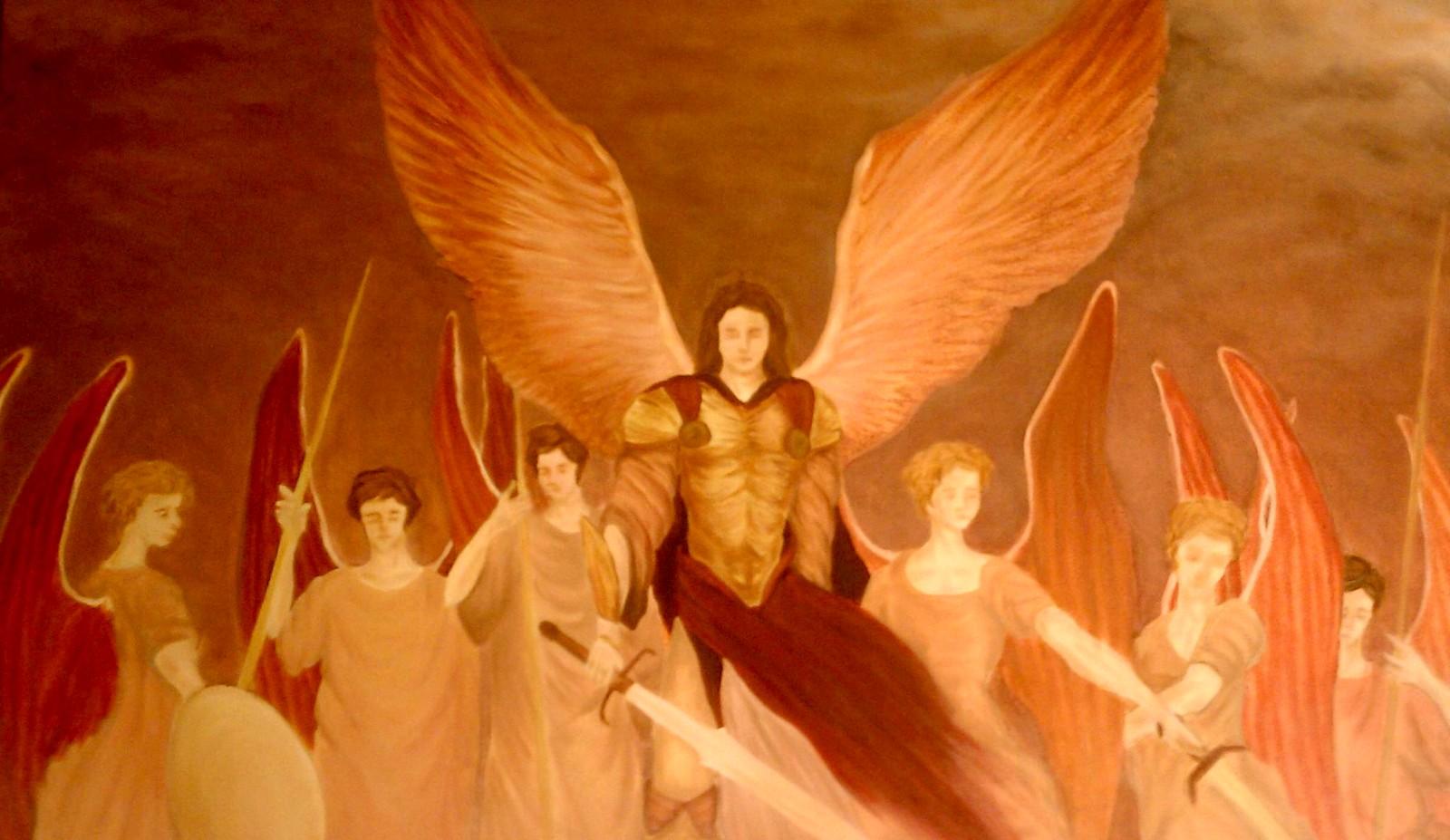 siete arcangeles fondo
