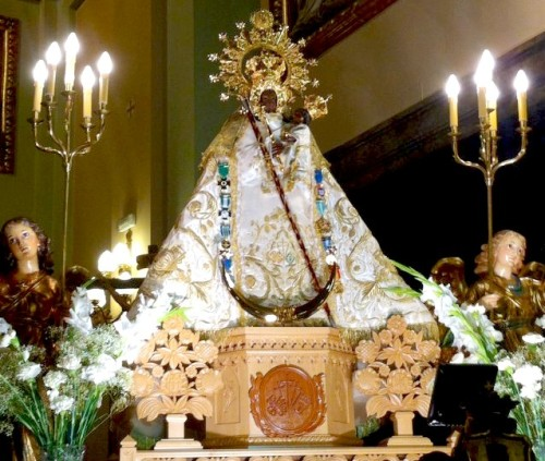 virgen cruces daimiel