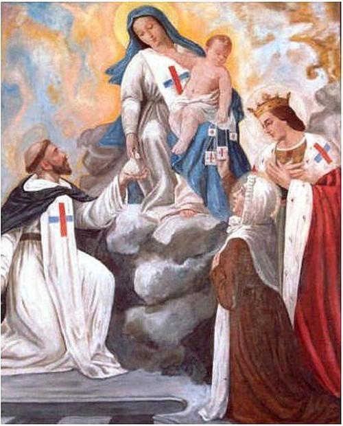 virgen del buen remedio orden trinitaria