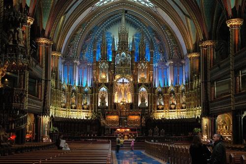 Basílica de Notre-Dame - Montreal, Canadá