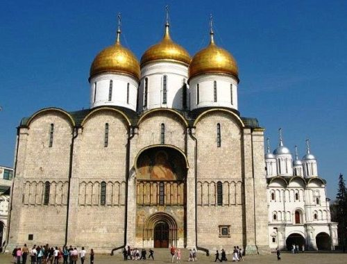 Catedral de la Dormicion de Moscu