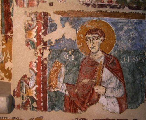 Pintura de San Celso