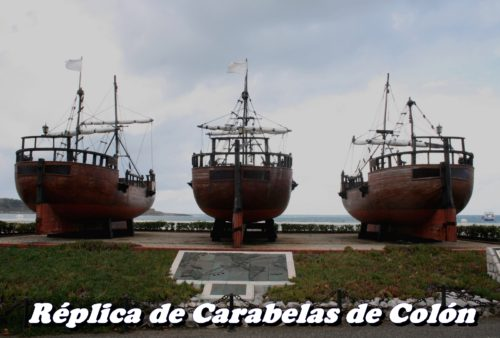 Replica de las Carabelas de Colon