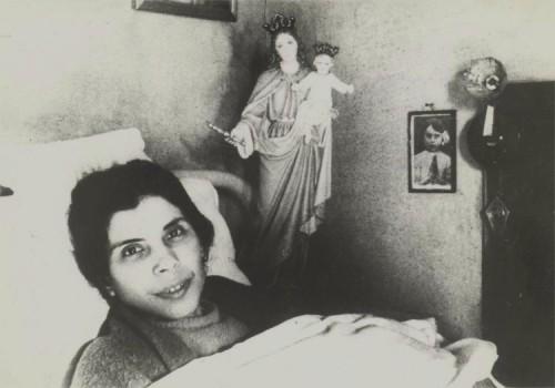 alexandrina en la cama