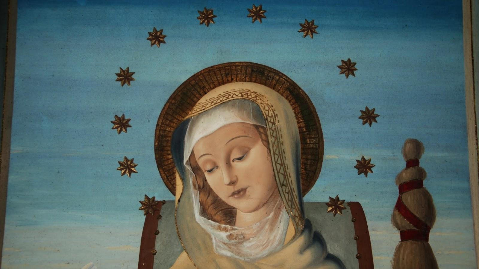 Mater Admirabilis o Madonna del Lirio, y su Milagrosa Pintura, Italia (20 oct)