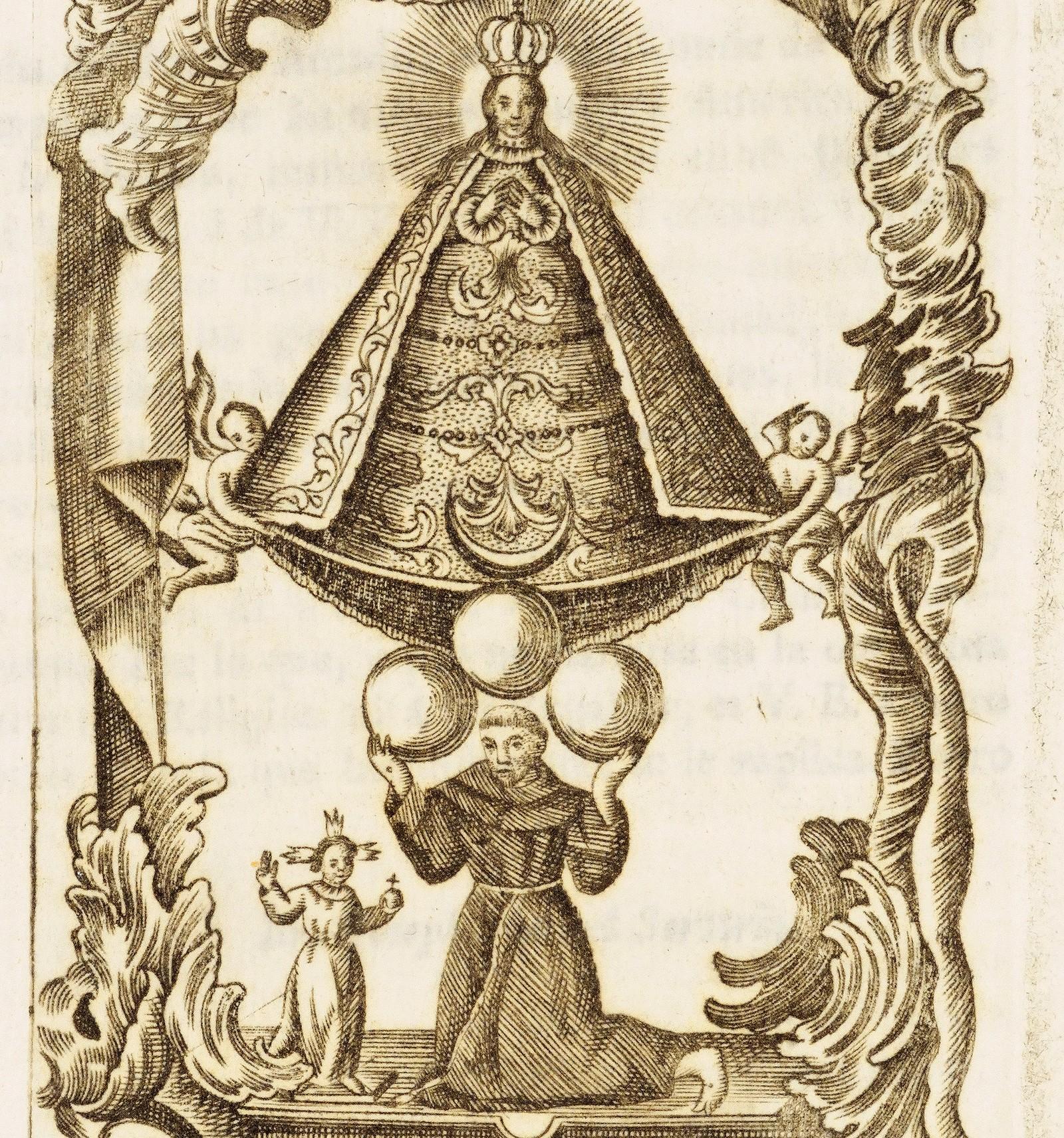 Santa María del Pueblito, Milagrosa Imagen Esculpida por un Fraile, México (17 oct)