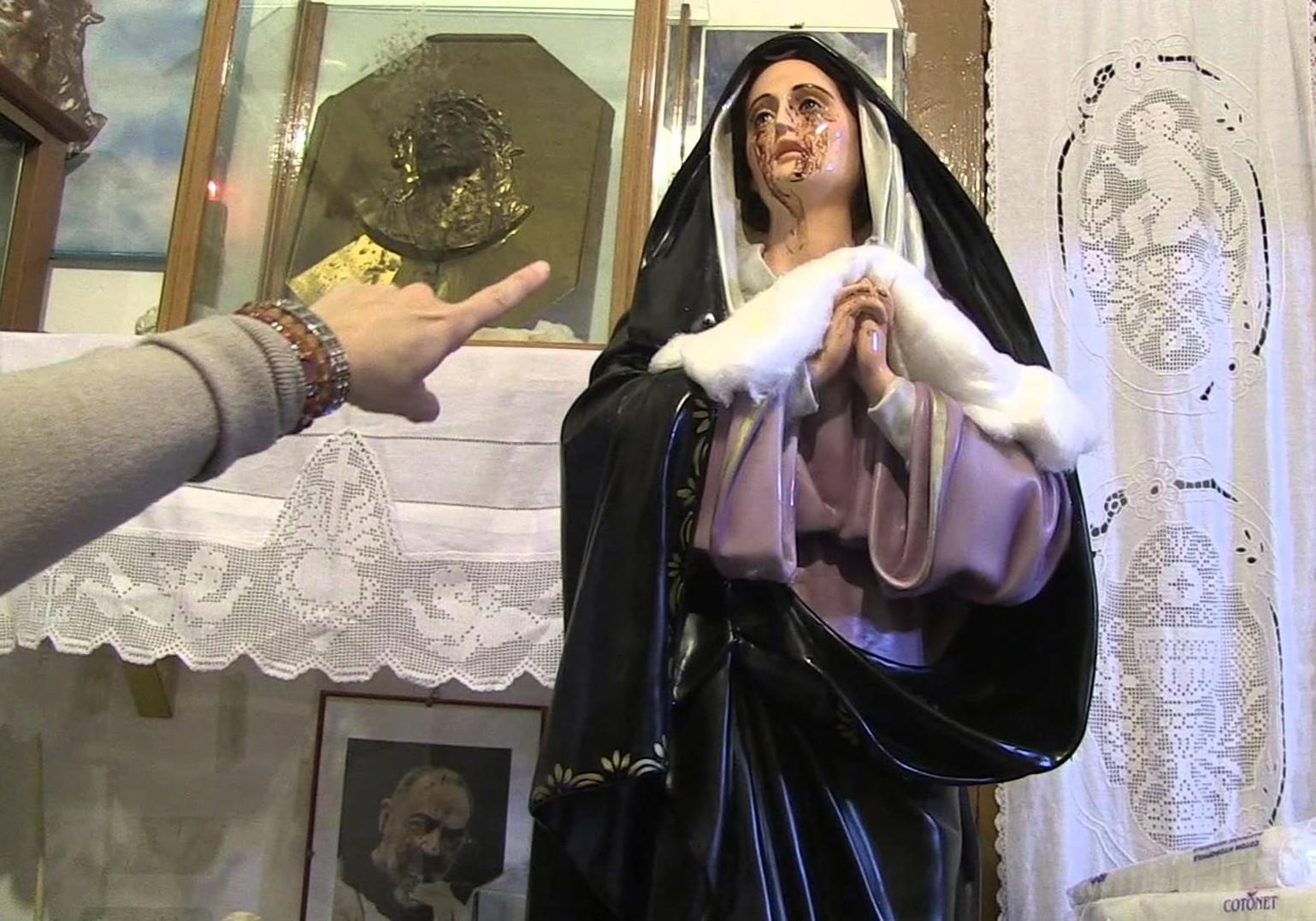 Las Lacrimaciones de Sangre y Mensajes de Nuestra Señora de Giampilieri, Italia (21 oct)