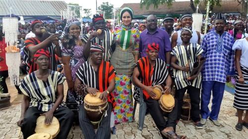 ministra de turismo de nigeria en aokpe 2005