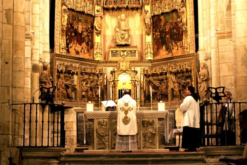 misa gregoriana fondo