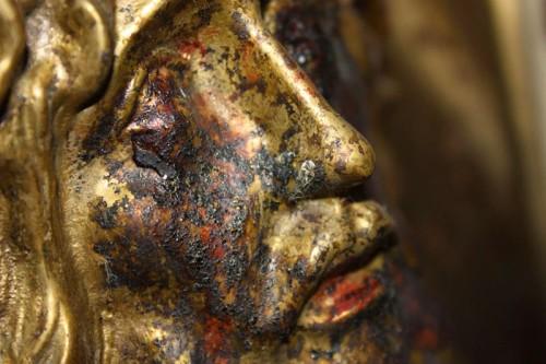parte de rostro de jesus lagrimas de sangre gampilieri