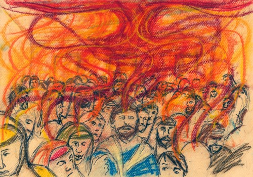 llagada del espiritu santo a los apostoles