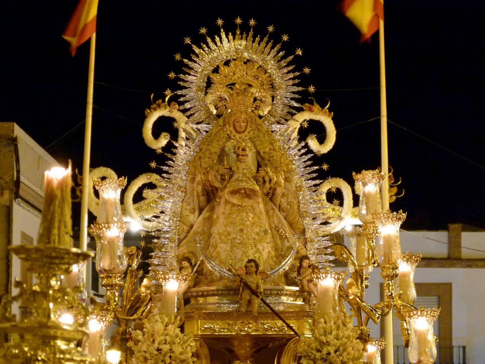 Virgen de las Cuatrovitas, Invisible a los Musulmanes, España (25 jul, 3º dom sep y 4º dom oct)