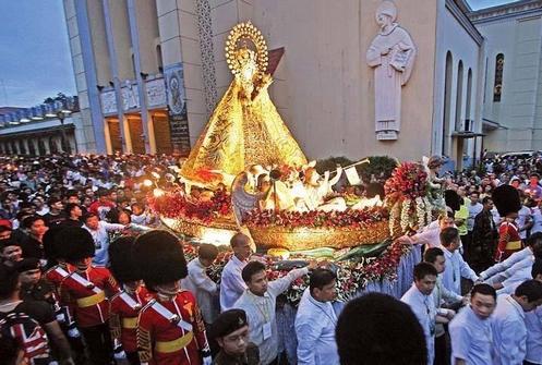 procesion de la naval de filipinas