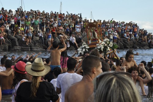 procesion marina guadalupe islas canarias fondo