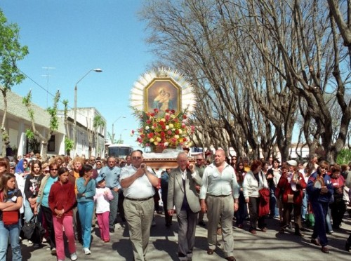 procesion schoenstatt uruguay