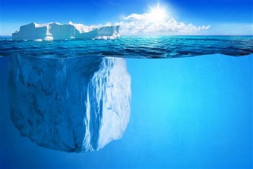 punta del iceberg
