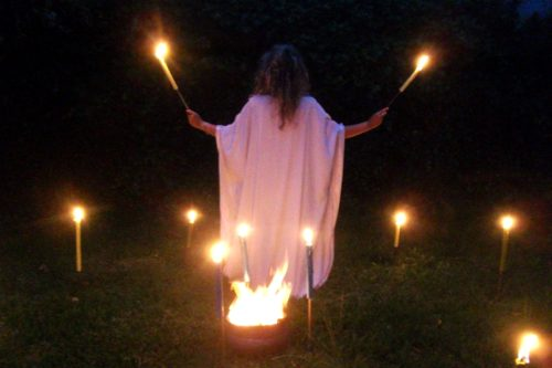 ritual de bruja