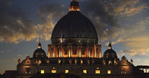 san pedro vaticano oscuro fondo