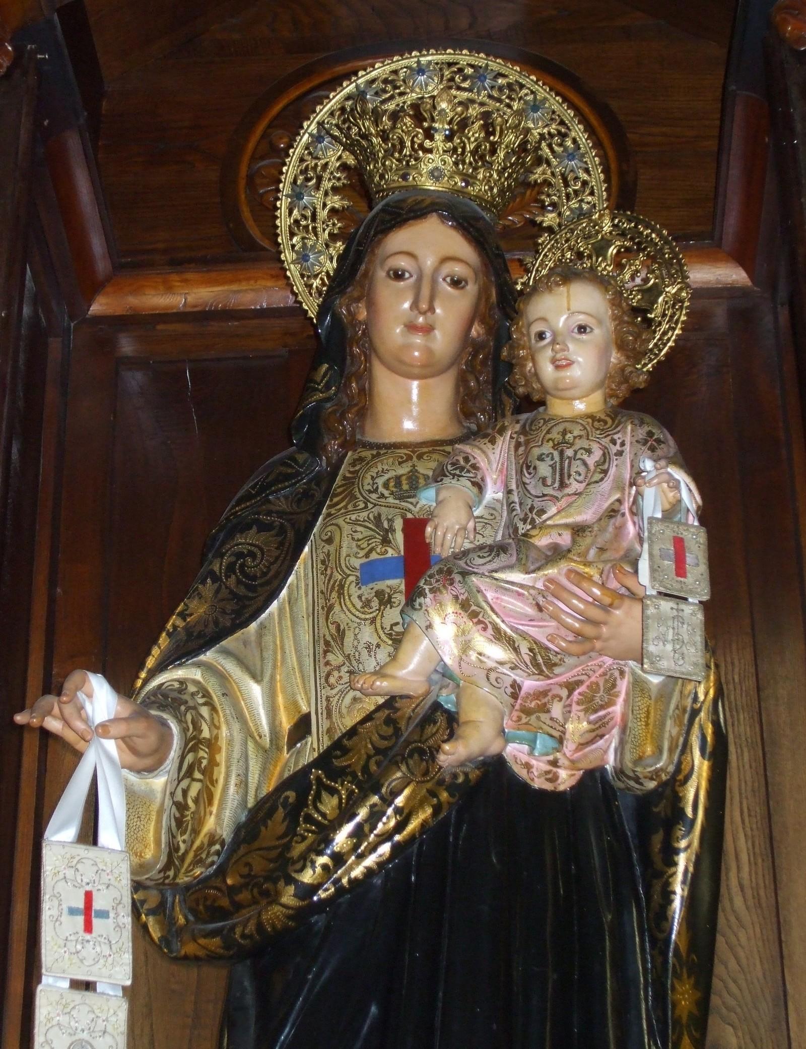 Nuestra Señora del Buen Remedio, patrona de la Orden de la Santísima Trinidad( 8 oct)
