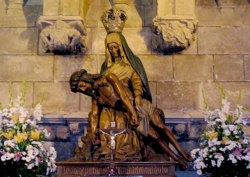 Facebook Virgen pequeño en León