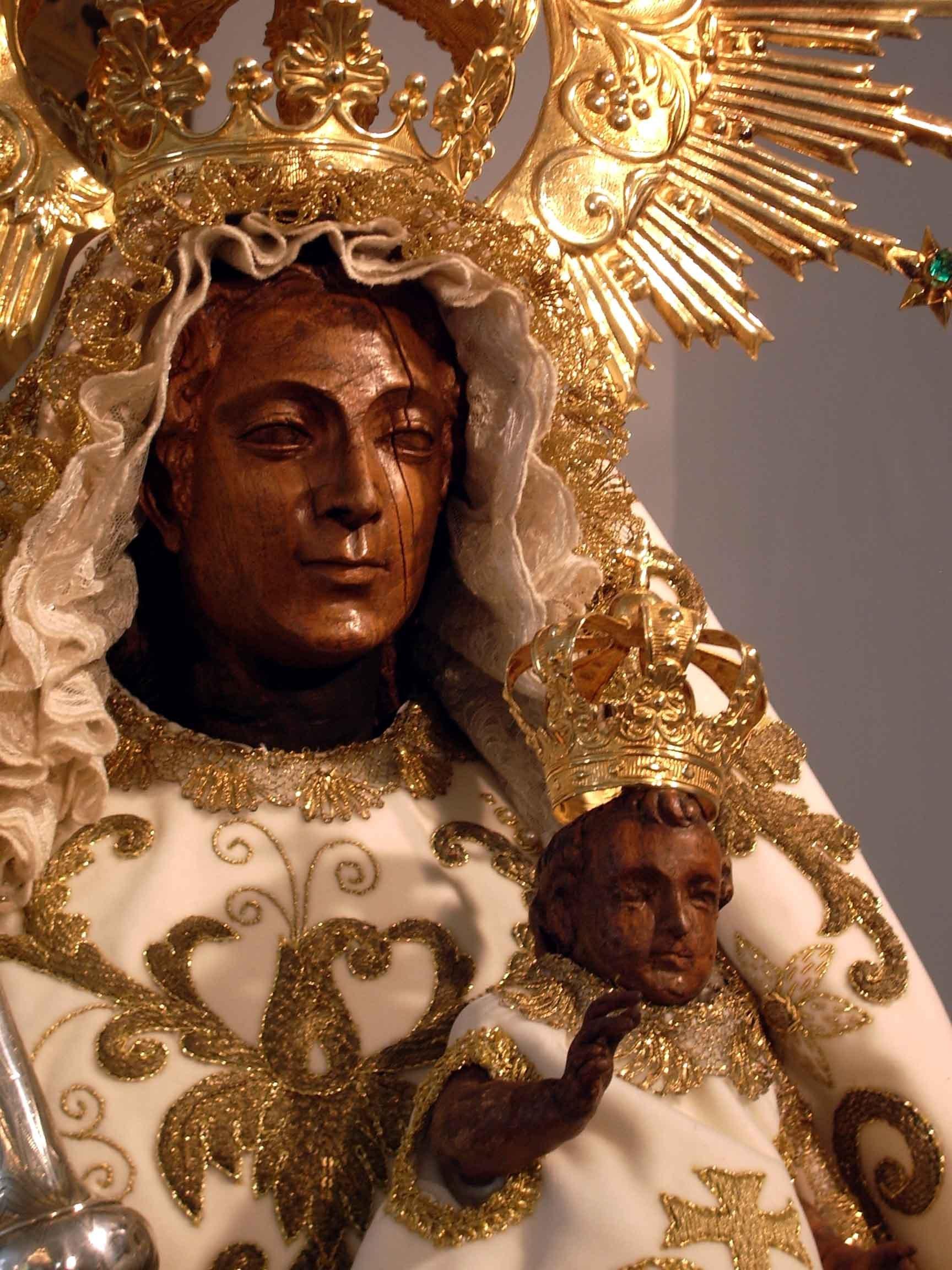 La Virgen del Martirio de la Alpujarra, Recuerda el Martirio por los Moros, España (14 oct)