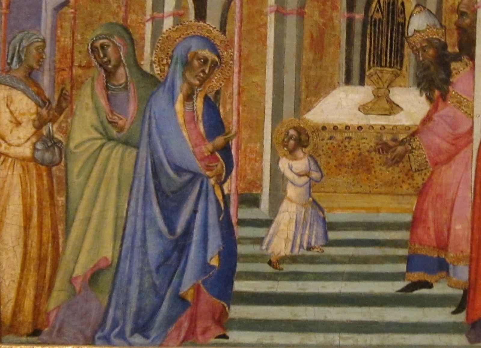 Presentación de María en el Templo: visión de Sor María de Agreda